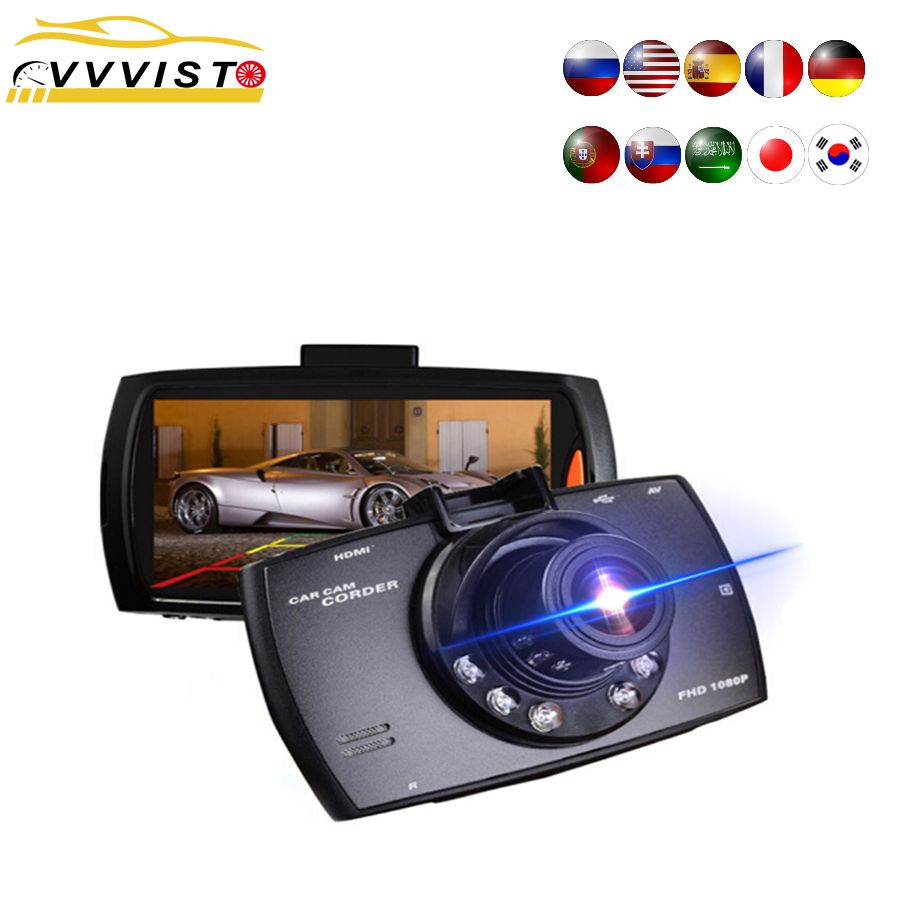 Car DVR Dash-Camera Auto Car-Dvr-Recorder Video-Registrator Mini Full-Hd 1080P