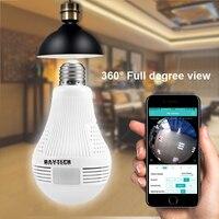 DAYTECH Wireless IP Camera WiFi Panoramic Fisheye Surveillance Camera 1080P 960P 360 Full Degree View Angel