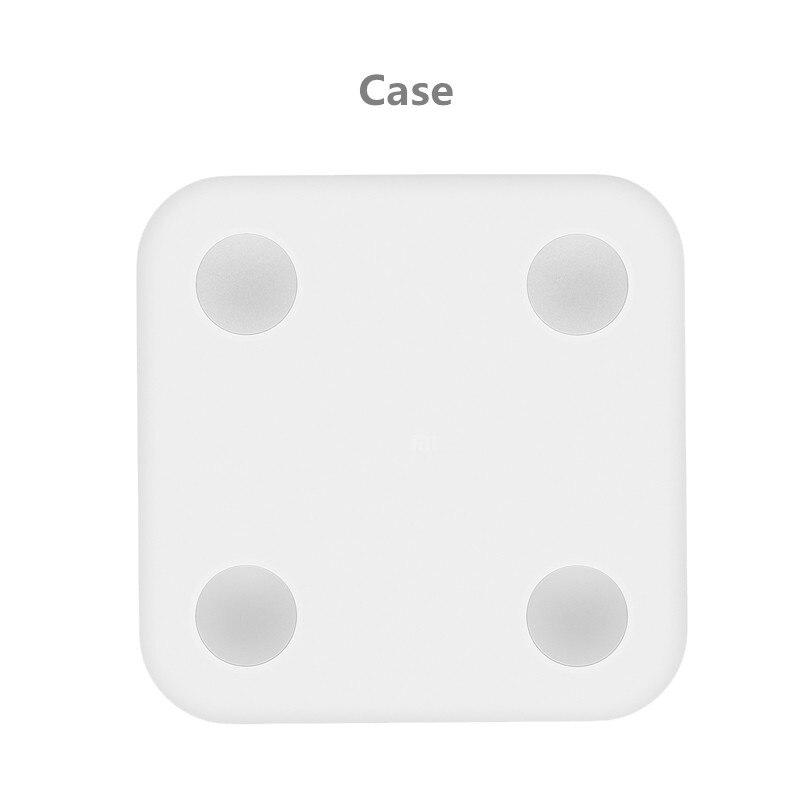 D'origine Doux Silicone Étui de protection Pour Xiaomi de Graisse Corporelle Échelle Protège Votre Délicate Graisse Échelle De La Poussière Et Des Rayures dans Salle de bains Échelles de Maison & Jardin