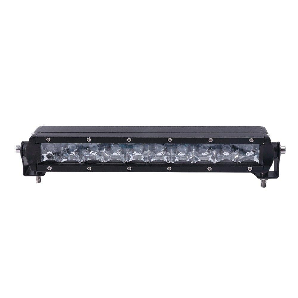 1pcs 11Inch 50W With LED Chips LED Light Bar Offroad 12V 24V For ATV SUV 4WD <font><b>Marine</b></font> Truck Bus LED Bar Work Light