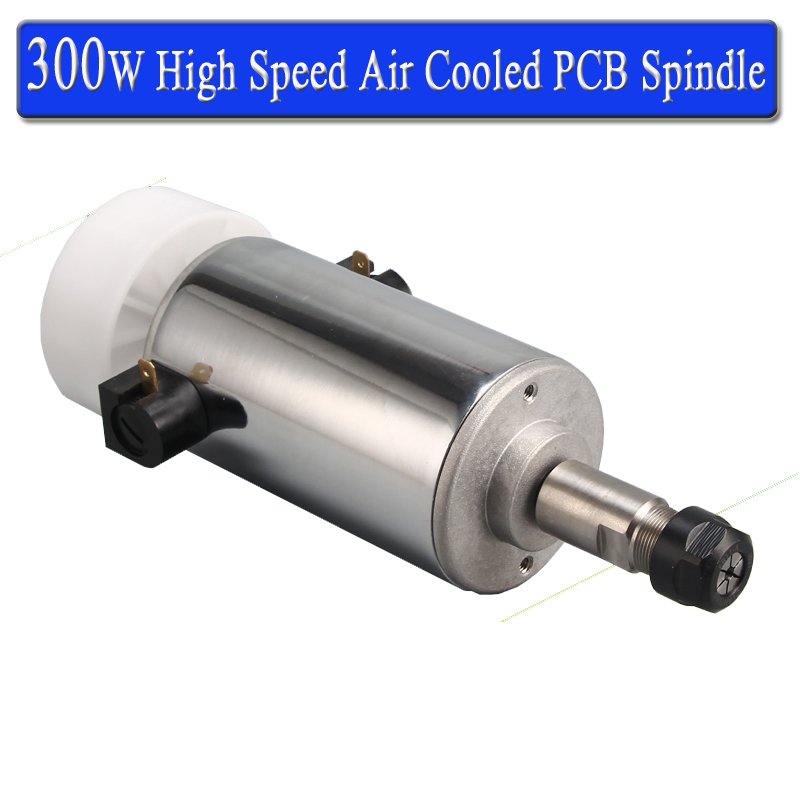 Free Shipping CNC Spindle 300w Air Cooled Spindle Kit ER11 chuck CNC 300W Spindle Motor 2 2kw water cooled spindle kit cnc spindle motor 80 230