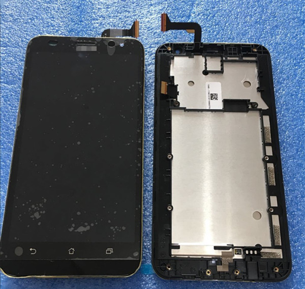 LCD screen display + Touch digitizer with frame  For 5.5'' Asus ZenFone 2 Laser ZE550KL Z00LD free shipping