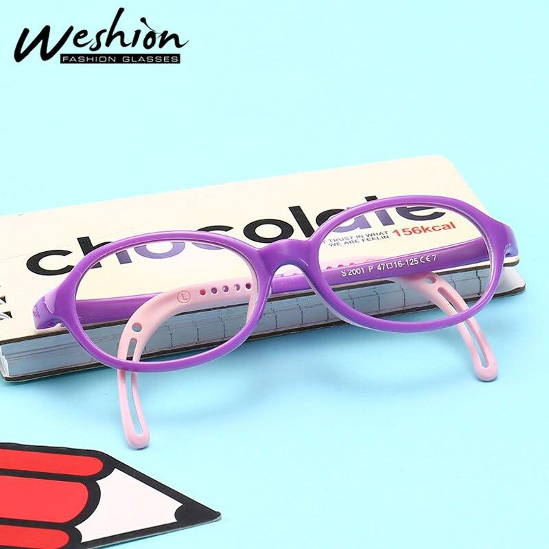 Anti Blue Light Blocking Glasses Kids Flexible Eyeglasses Children Optical Frame Girls Boys Digital Strain Gaming TR90 UV400