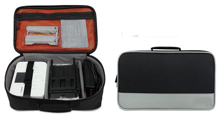 Casual Canvas Handbags Storage bag Portable Women Men Case For  Canon SELPHY CP910 /900 /1200 ip100  HP100 Digital Photo Printer casual canvas satchel men sling bag