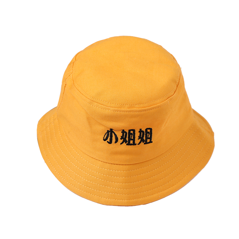 Street Childrens Panama Fisherman Hat Chinese Pattern Summer Style Cotton Beach for Girls and Boys 2-8 Years