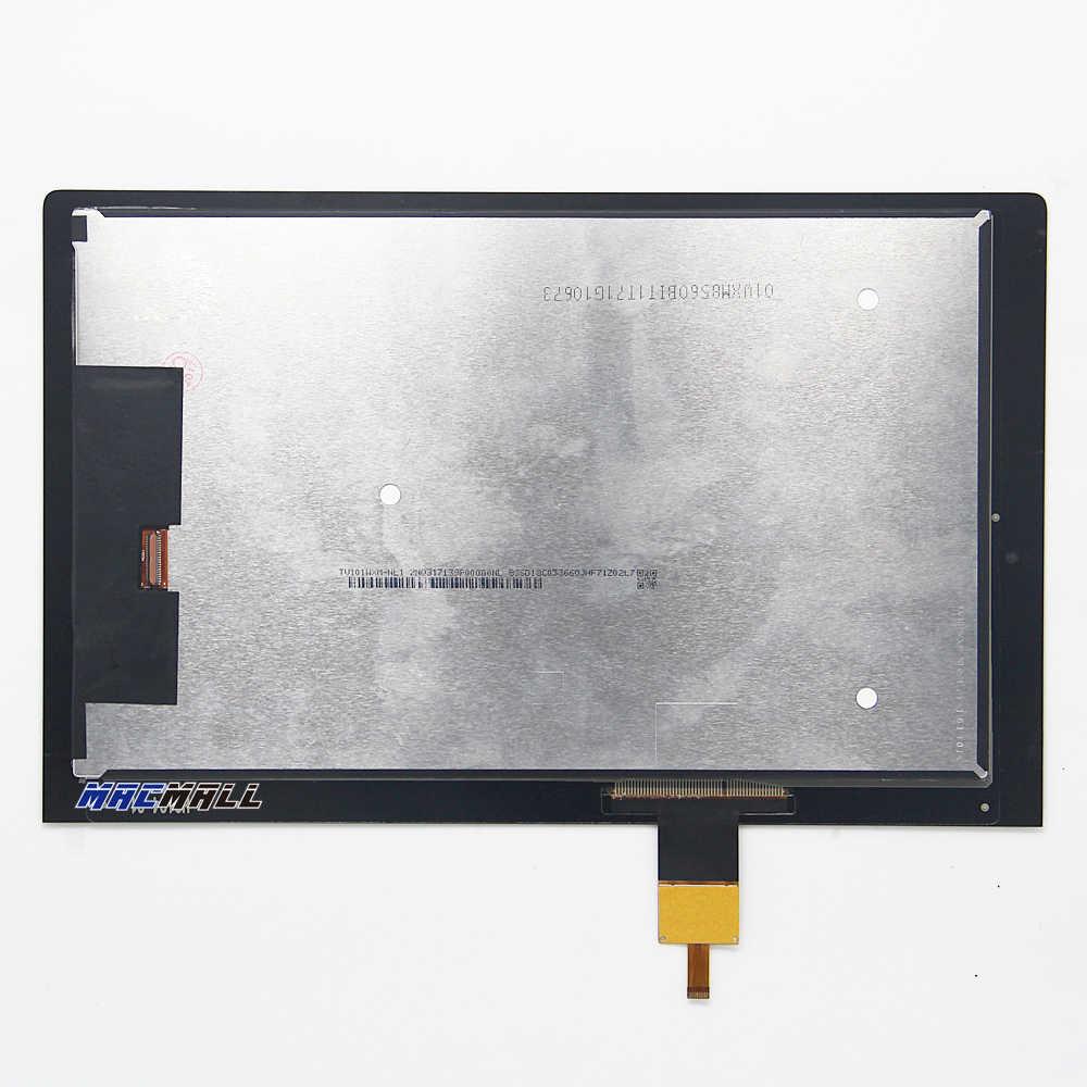 جديد لينوفو اليوغا تبويب 3 YT3-X50 YT3-X50F YT3-X50M استبدال شاشة الكريستال السائل + شاشة تعمل باللمس الجمعية 10.1 بوصة الأسود