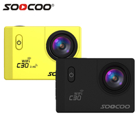 SOOCOO C30 C30R 4K Action Camera Gyro Wifi Adjustable Viewing Angle 170 Degrees 2 0 LCD