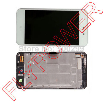LCD Display Screen+Touch Digitizer Screen + Frame Complete White For Meizu MX3 M055 MX065 by free shipping