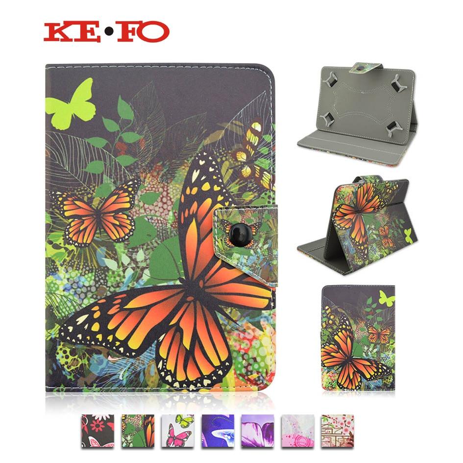 все цены на Universal 10 inch Tablet case For Prestigio MultiPad PMT5021 3G 10.1 inch Flip Stand leather Cover +Center Film+pen KF492A онлайн