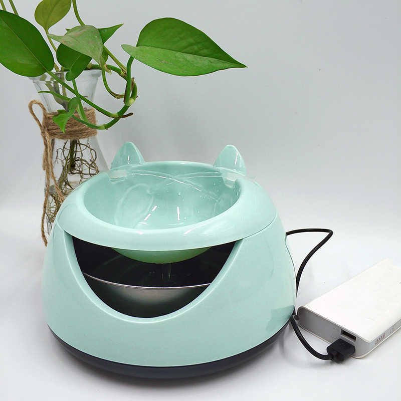 USB Drinking Bowls for Cat Water Fountain Electric Automatic Drinking  Dispenser for Cats Fountain Bowl Dogs Water Dispenser