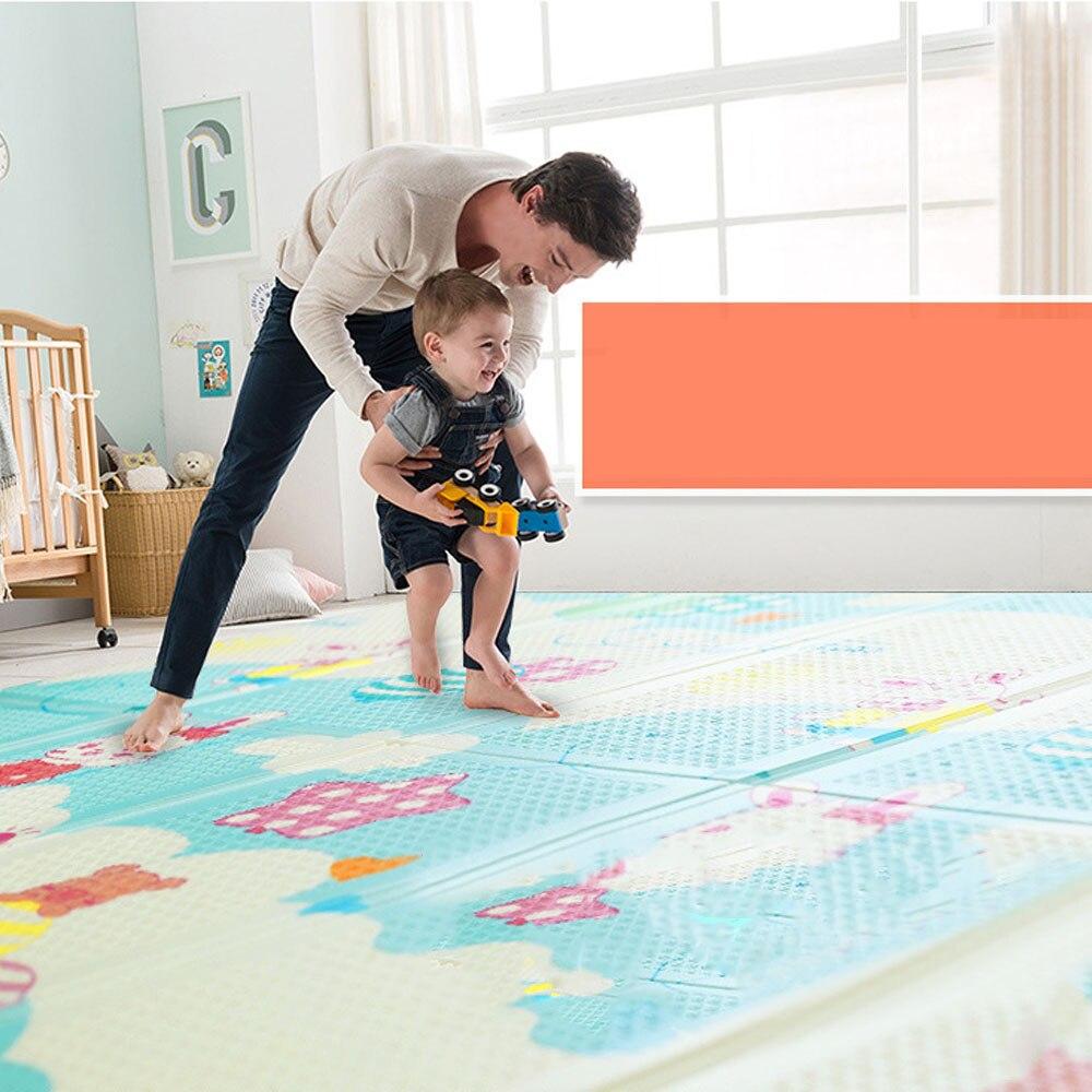 197*148*1 cm mousse bébé tapis tapis de jeu jouets pour enfants tapis enfant en bas âge ramper tapis de jeu couverture infantile livraison directe - 4