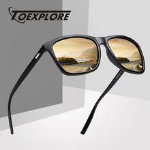 TOEXPLORE Polarized Men's Anti-Glare Sunglasses Women Sports Eyewear Driving Goggles Luxury Mirror Sun Glasses Brand Designer(China)