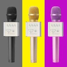 Опоздавший bluetooth микрофон, динамик Q9 Семья КТВ караоке беспроводной портативный микрофон Fit смартфон PK Q7/K068
