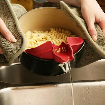 Gadget Tools Barrier design Silicone Soup Funnel Water Deflector Cooking Tool gadget