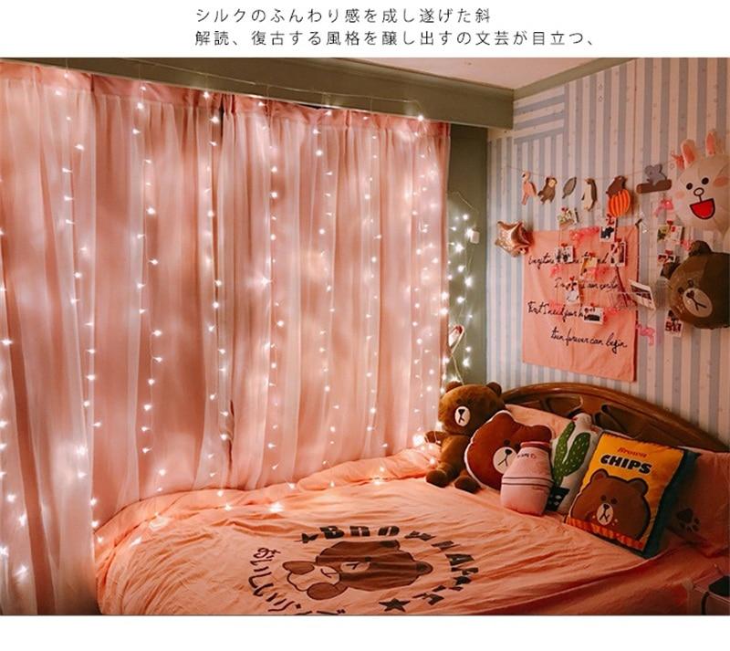 de natal luz corda luzes led decoração