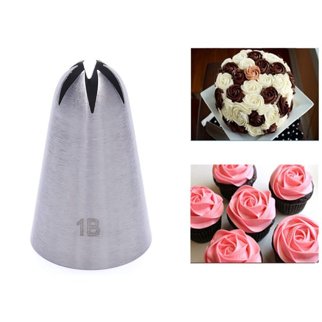 # 1b большой Размеры крем сопла Декор Совет Обледенение Насадка Торт Помадка выпечки набор инструментов