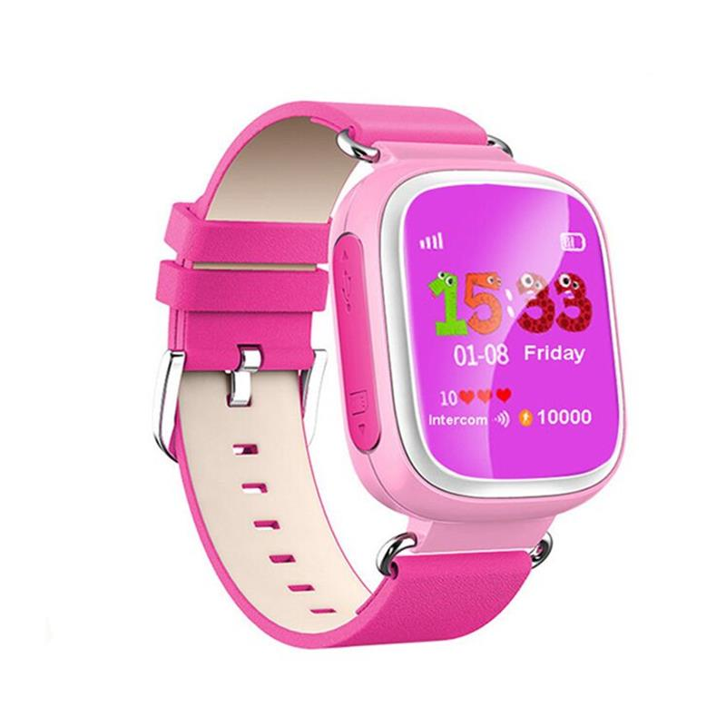 2016 Kid GPS Smart Watch Wristwatch SOS Call Location Device Tracker for Kid Safe Anti Lost Monitor Baby Gift Q80 PK Q50 Q60
