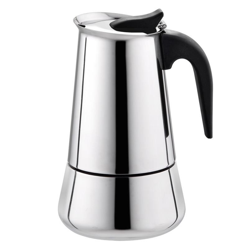 Moka Coffee Pot Makers Italian Top Espresso Cafeteira Expresso Filter 2 6 cups