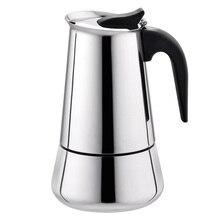 Moka Kaffeekanne Makers Italienische Top Espresso Cafeteira Expresso Filter 2-6 tassen