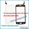 Сенсорный экран для Samsung Galaxy Core LTE G386F SM-G386 Avant G385 Сенсорный Экран Замена Стеклянная Панель Бесплатная Доставка