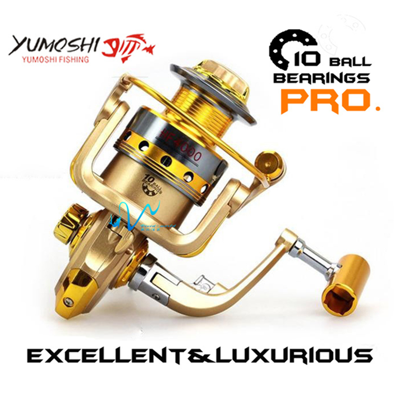 Fishing reel metal main body cnc rocker strong spinning for Fishing reel bearings