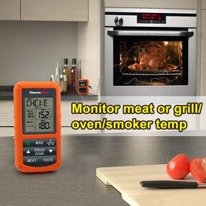 Image 3 - ThermoPro TP 20 מרחוק אלחוטי דיגיטלי מנגל, תנור מדחום בית שימוש נירוסטה גדול בדיקה מסך עם טיימר