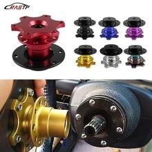 RASTP NEW Universal Durable Car Steering Wheel Quick Release Racing Adapter Self Locking Mechanism RS3-QR001