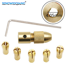 0.5-3.0mm Mini Drill Collet Set Micro Twist Electronic Drill Chuck Keyless Adapter With 1Pc Wrench