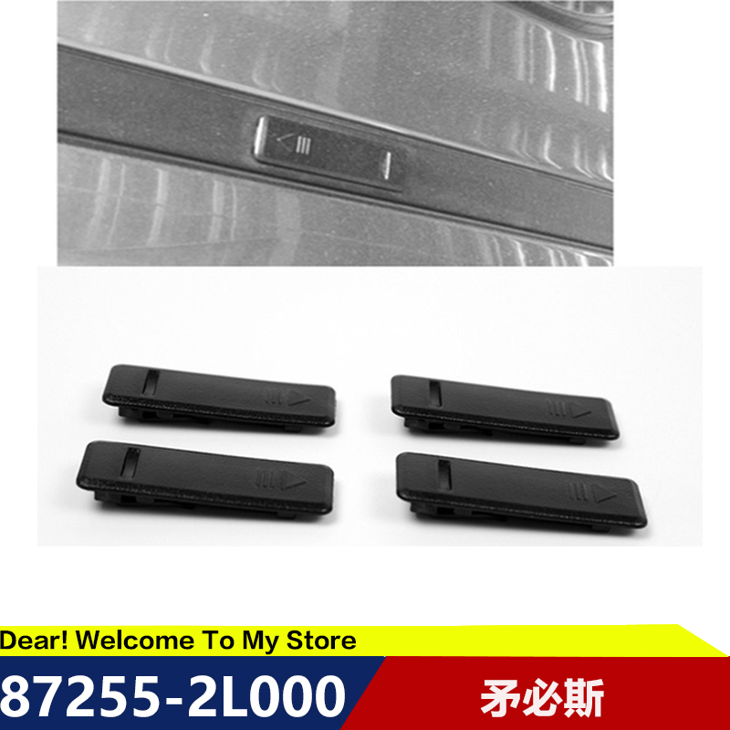 4Pcs FOR HYUNDAI I30 CEED Car Top Sink Chuck Clip Cover Cover Water Bar Cover Roof Cap 872552L000 CLIP ROOF GARNISH MTG