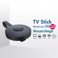 10 шт. mirascreen G2 ТВ карты ключ адресации любому устройству группы easycast HDMI WIFI Дисплей приемника Miracast Chromecast мини android 2 для ТВ