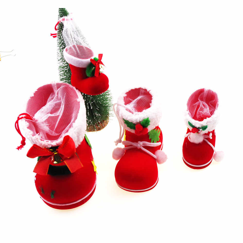 d827d0397c1 Christmas Stockings for Kids Family Fireplace Decorations and Cute Santa Stocking  Fillers for Light Gifts