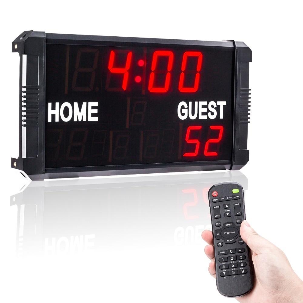 Basketball Time stopwatch electronic scoreboard football table ...