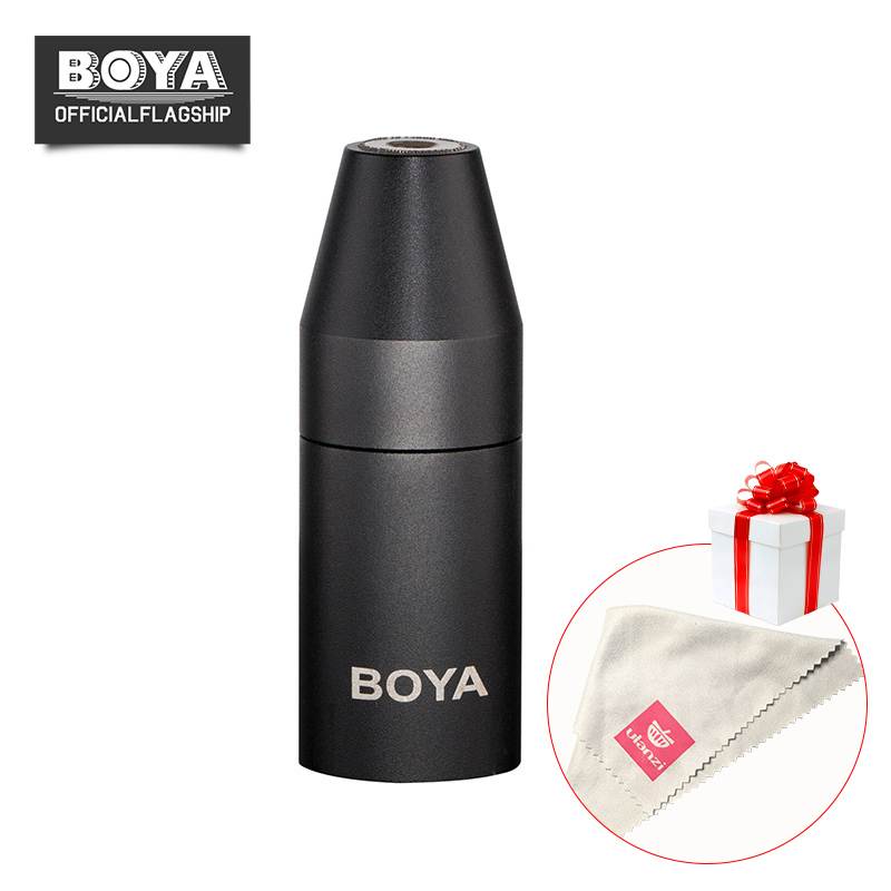 BOYA 35C-XLR 3.5mm (TRS) Mini-Jack Female Microphone Adapter to 3-pin XLR Male Connector for Camcorders, Recorders, & Mixers areyourshop audio adapter 6 pin xlr 12mm cable chassis mount length 46mm 50pcs female male adapter connector new arrival