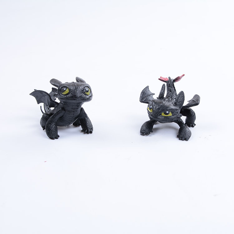 How to Train Your Dragon Action Figure Toys Toothless Dragon Night Fury Dragon Hiccup PVC Kids Toys Gift Toothless Nightfury Toy