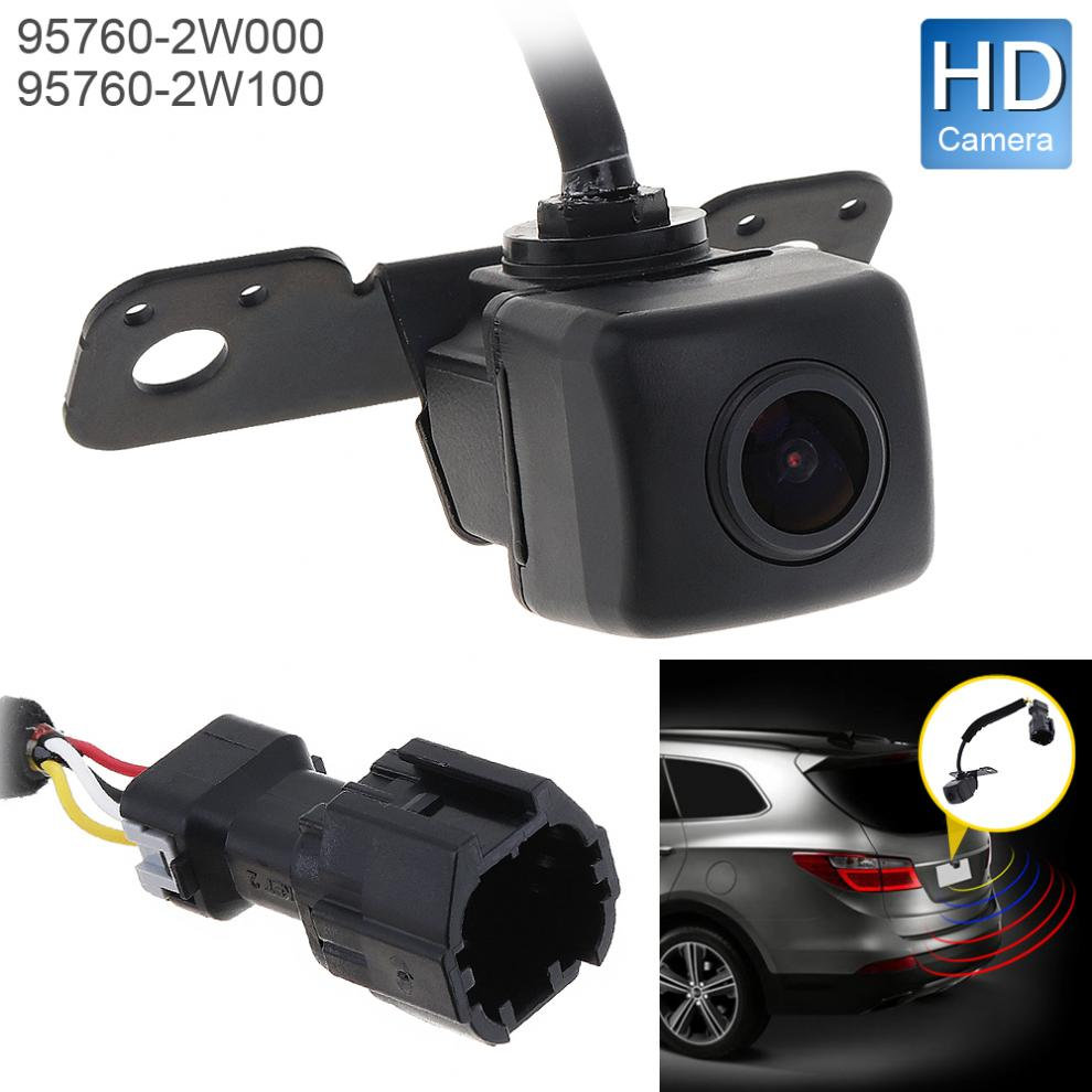 12V Car Rear View Camera 5W Auto Backup Parking Assist Camera OEM 95760-2W000 / 957602W100 for Hyundai Santa Fe 2013-2015 yaopei auto car reversing rear view backup camera parking assist oem vcb n501b vcbn501b