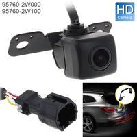 12V Car Rear View Camera 5W Auto Backup Parking Assist Camera OEM 95760 2W000 / 957602W100 for Hyundai Santa Fe 2013 2015