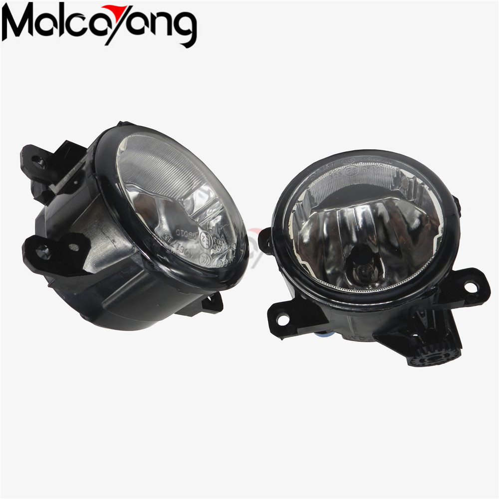 2 Pcs/Set Car-styling NEW CCC 12V 55W DRL Fog Lamps Lighting For Mitsubishi OUTLANDER PAJERO GALANT Grandis L200 2003-2012 fog lights for mitsubishi pajero sport 2008 2015 1 set 2 pcs car accessories styling car decoration automotive front light