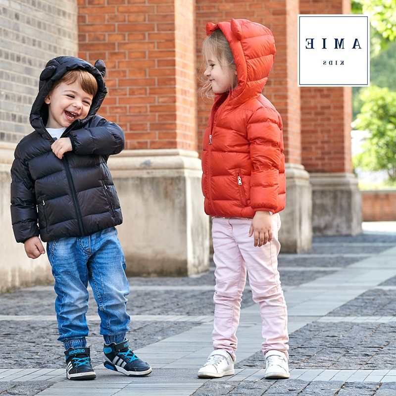 NEW Brand Hot High Quality 2017 Winter Child Boy Down Jacket Parka Big Girl Thin Warm Coat 1-6 Year Light Hooded Outerwears DS29 brand new high quality warranty for one year bes m18mg psc16f s04k
