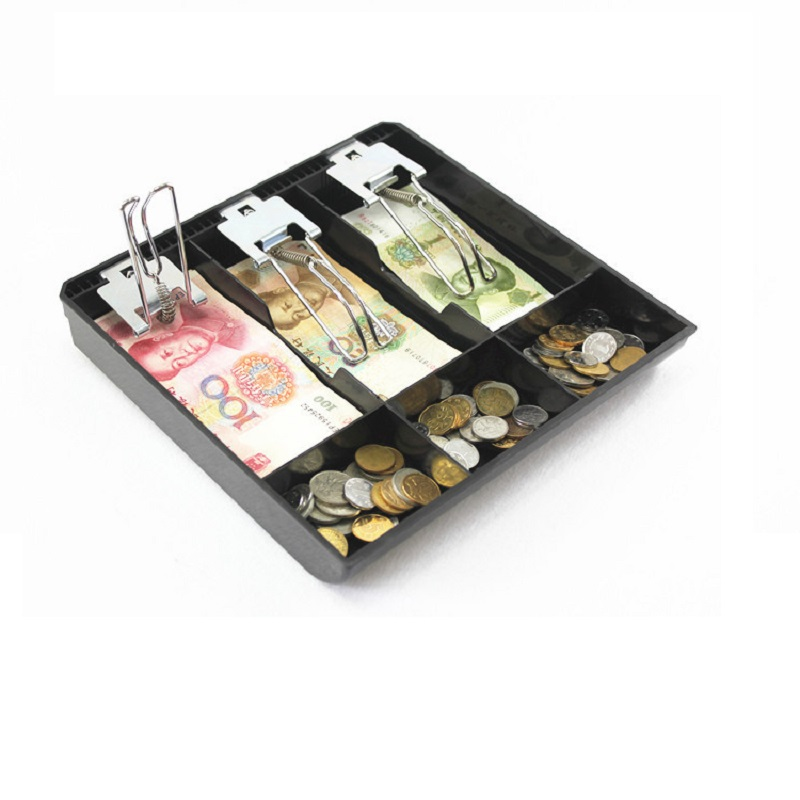 Money Counter Case Hard Plastic Case New Cash Register Box New Classify Store Cashier Coin Drawer Box Cash Drawer Tray
