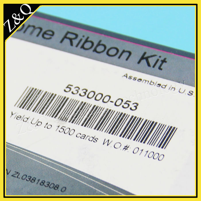 Datacard 535000-003 YMCKO Color Ribbon for use with CD800 or  CP60 series Card printers