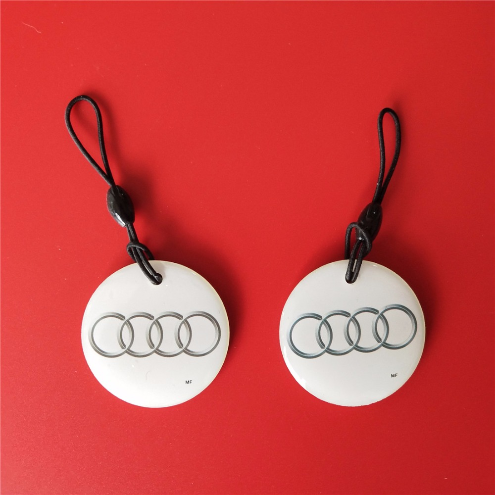 UID Tag Changeable S50 RFID IC Keyfob 13.56Mhz Tag Token Keyfob for Copier 50pcs lot uid changeable nfc ic tag rfid keyfob token 1k s50 13 56mhz writable iso14443a