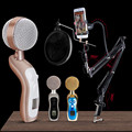 Simplestone SRS Premium Surround Sound Home Karaoke metaphone Microphone Player for phone PC Laptop 0213 drop shipping
