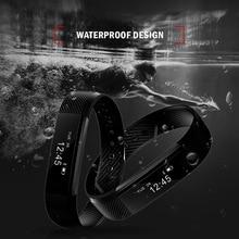 ID115 Fitness Tracker Smart Bracelet  Pedometer Bluetooth Waterproof Sleep Monitor Wrist Watch