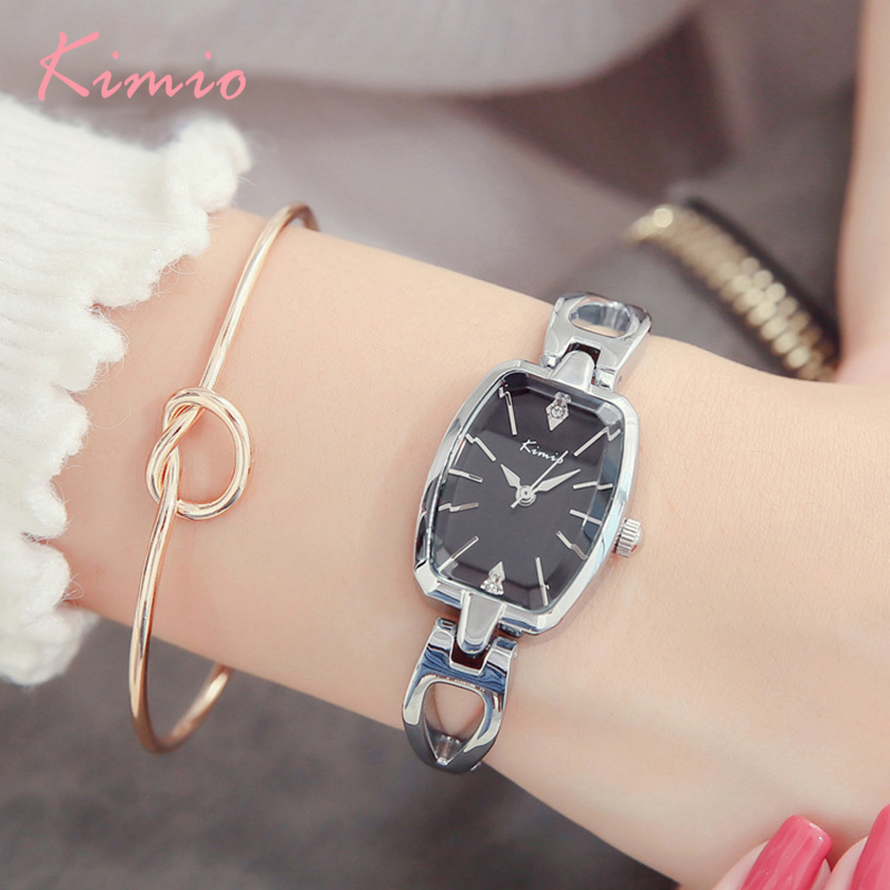 Kimio Brand Women s Bracelet Watches Diamond Stainless Steel Dress Ladies  Quartz Watch Femme Relogio Feminino Horloges Vrouwen e9d1c45d257