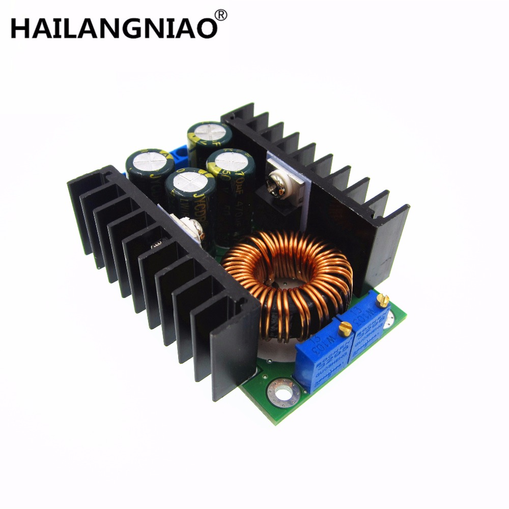 1pcs/lot 100% new DC CC 9A 300W Step Down Buck Converter 5 40V To 1.2 35V Power module-in Replacement Parts & Accessories from Consumer Electronics