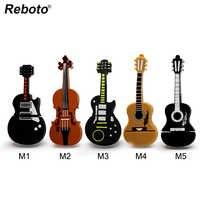 Musical instrument stift stick violine usb flash drive usb-stick 4gb 8gb 16gb 32gb 64gb cartoon gitarre memory stick u disk geschenk