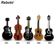 Musical instrument stift stick violine usb flash drive usb stick 4gb 8gb 16gb 32gb 64gb cartoon gitarre memory stick u disk geschenk