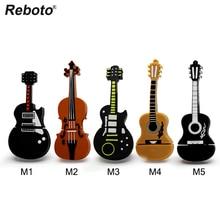 musical instrument pen drive violin usb flash drive pendrive 4gb 8gb 16gb 32gb 64gb cartoon guitar memory stick u disk gift