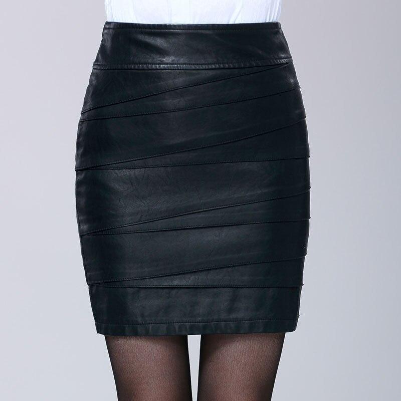 Saia Jupe Couro Courte De Noir 809 Cuir Femmes Manteau Un Taille Couleur 8221 Plus Peau Mouton En Black Sexy Black Mode AqO6Ywn