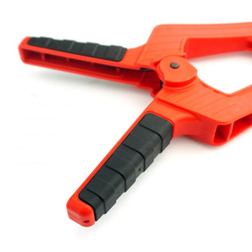 """Купить с кэшбэком 4""""(112mm)  7""""(170mm) or 9""""(200mm) Spring Clamps Strong Clamping Force can be use as Woodworking Clamping Systems"""